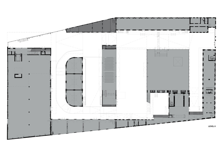 Ground Floor Plan - © OMA