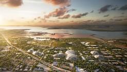 BIG and Heatherwick's Futuristic Google HQ Proposal Loses to LinkedIn