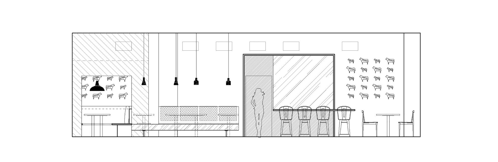 Pin office interior elevations on pinterest