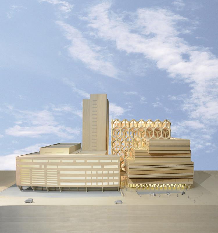 Neutelings Riedijk Architects Reveal Expansion Plans for Leiden's Naturalis Biodiversity Center, Courtesy of Neutelings Riedijk Architecten, Rotterdam