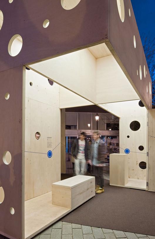 Blurarquitectura, Concéntrico Festival de Arquitectura y Diseño de Logroño, Pabellón. Image © Josema Cutillas