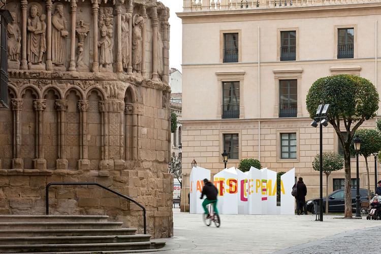 Boamistura, Concéntrico Festival de Arquitectura y Diseño de Logroño, Plaza San Bartolomé. Image © Josema Cutillas