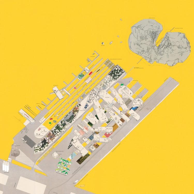 """España y Uruguay entre los siete proyectos ganadores del Archiprix Internacional 2015, """"Architecture of the Synthetic the Spectacular and Belligerent"""" por Frances Cooper. Image vía Archiprix Internacional"""