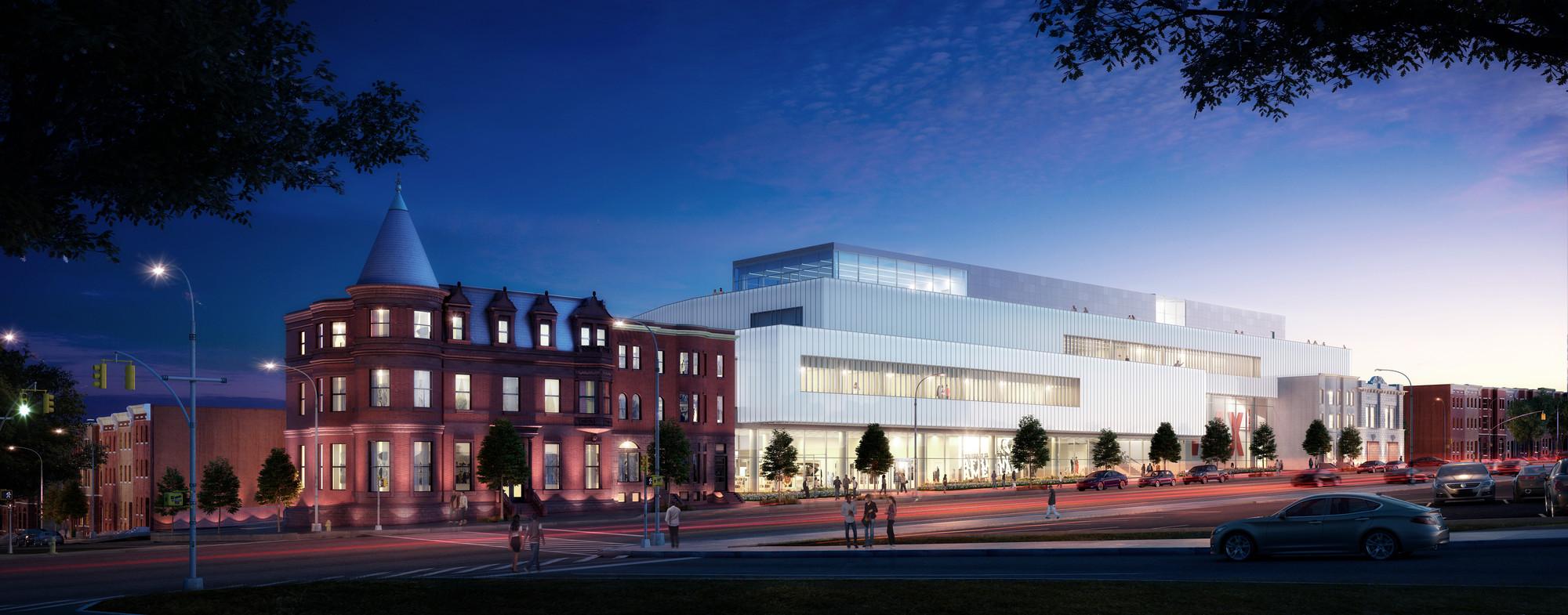 Davis Brody Bond to Expand Baltimore's National Great Blacks in Wax Museum, © Davis Brody Bond
