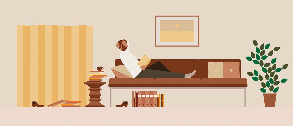 Modos de Trabajo / Living Office . Image Cortesia de Herman Miller
