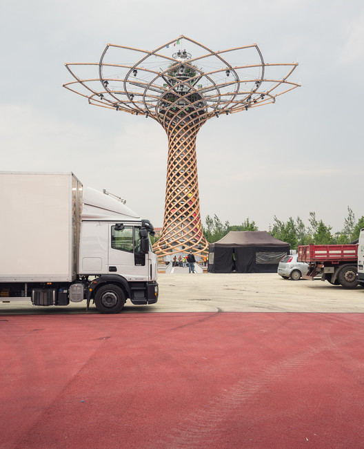 Insider Glimpses Of The Milan Expo Site Hours Before It Officially Opened, © Delfino Sisto Legnani