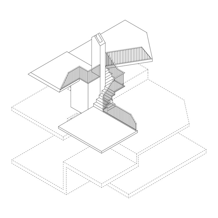 Interior Platforms Axonometric