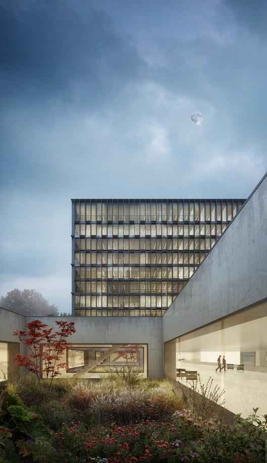 Berrel Berrel Kräutler Wins Competition to Expand WHO's Geneva Headquarters, Courtesy of Berrel Berrel Kräutler