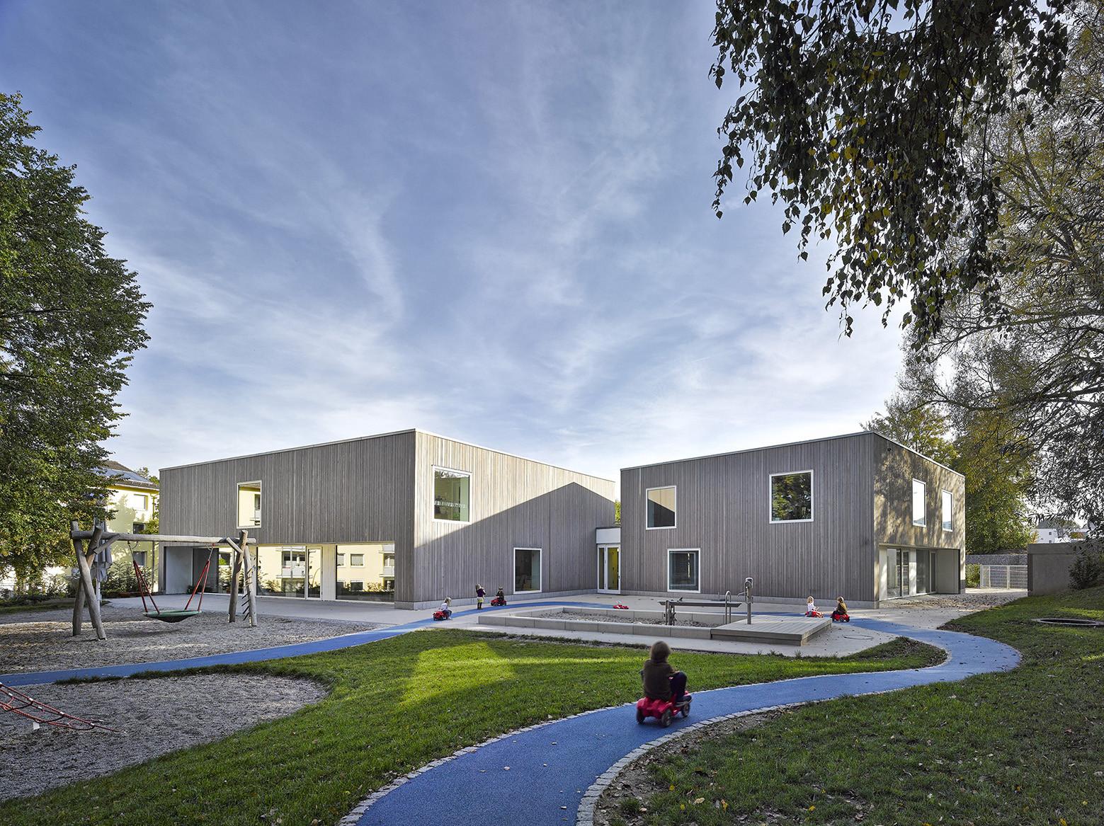 Familienzentrum im Steinpark Kindergarten / nbundm, © Florian Schreiber