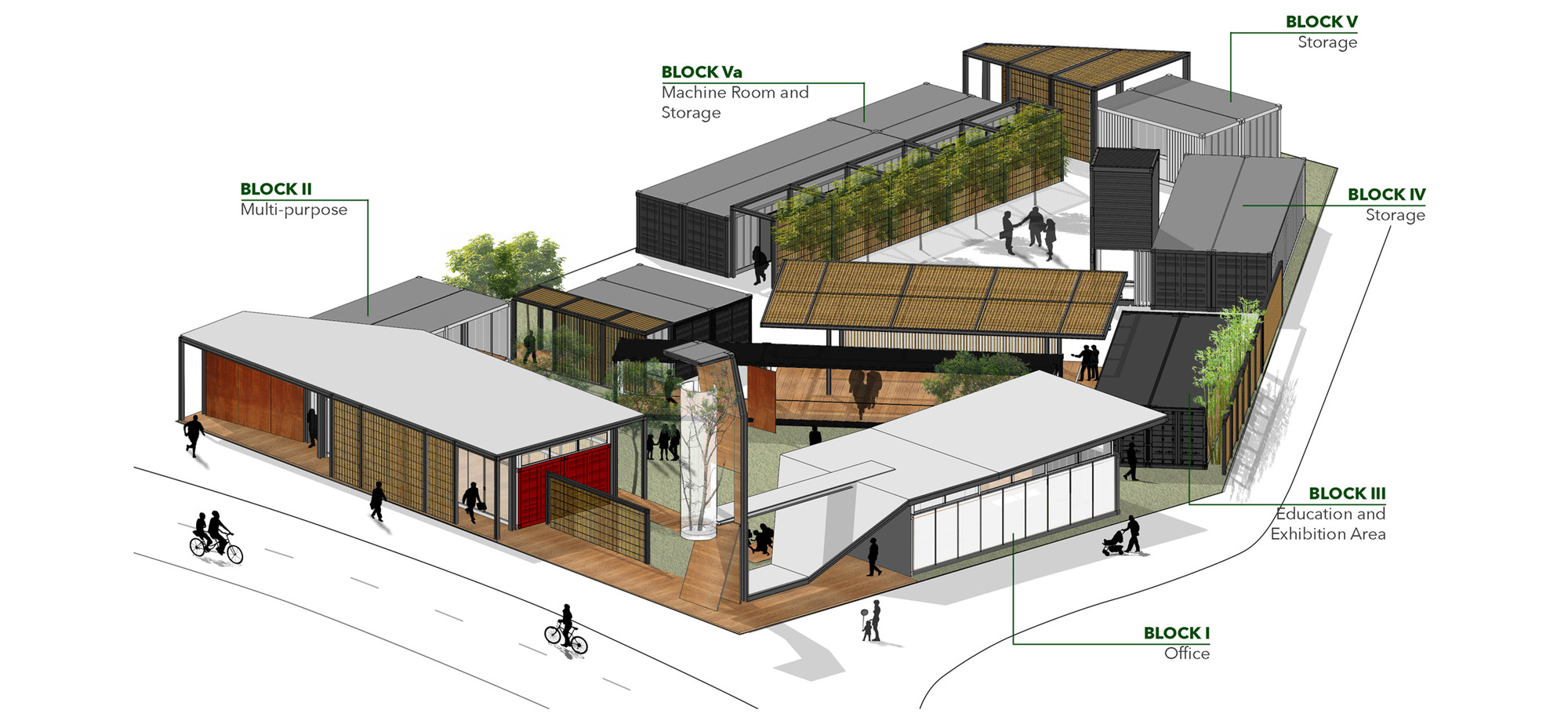 Gallery of Community Green Station Hong Kong Architectural