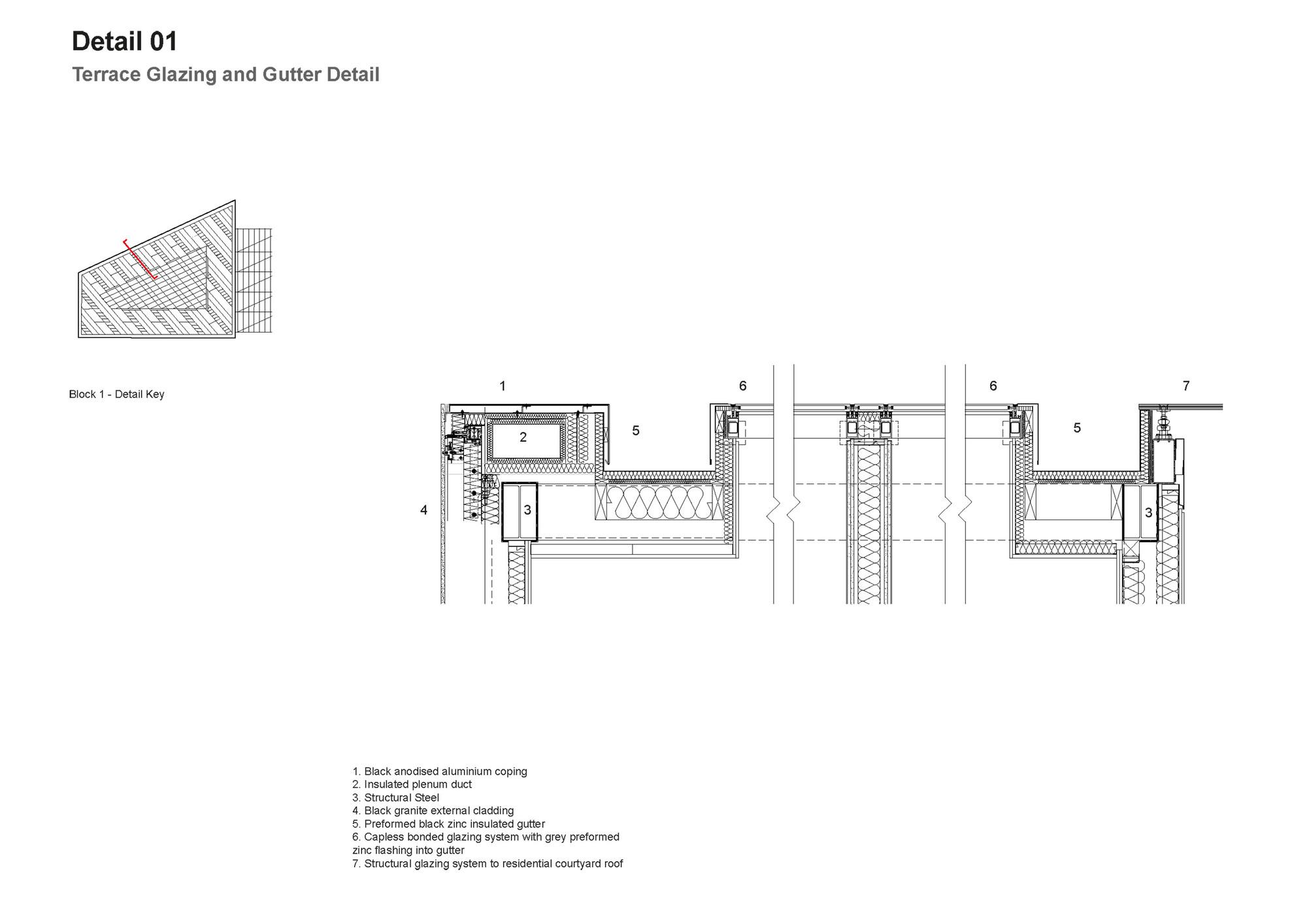 Galeria de residencial mann island broadway malyan 24 for Terrace khurra detail
