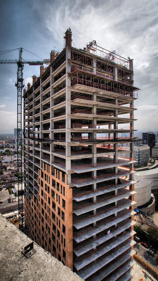 Vista Torre a Vivienda. Image © Ma. Dolores Robles-Martínez Gómez