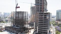 En construcción: Nuevo centro urbano en la Ciudad de México por Legorreta + Legorreta
