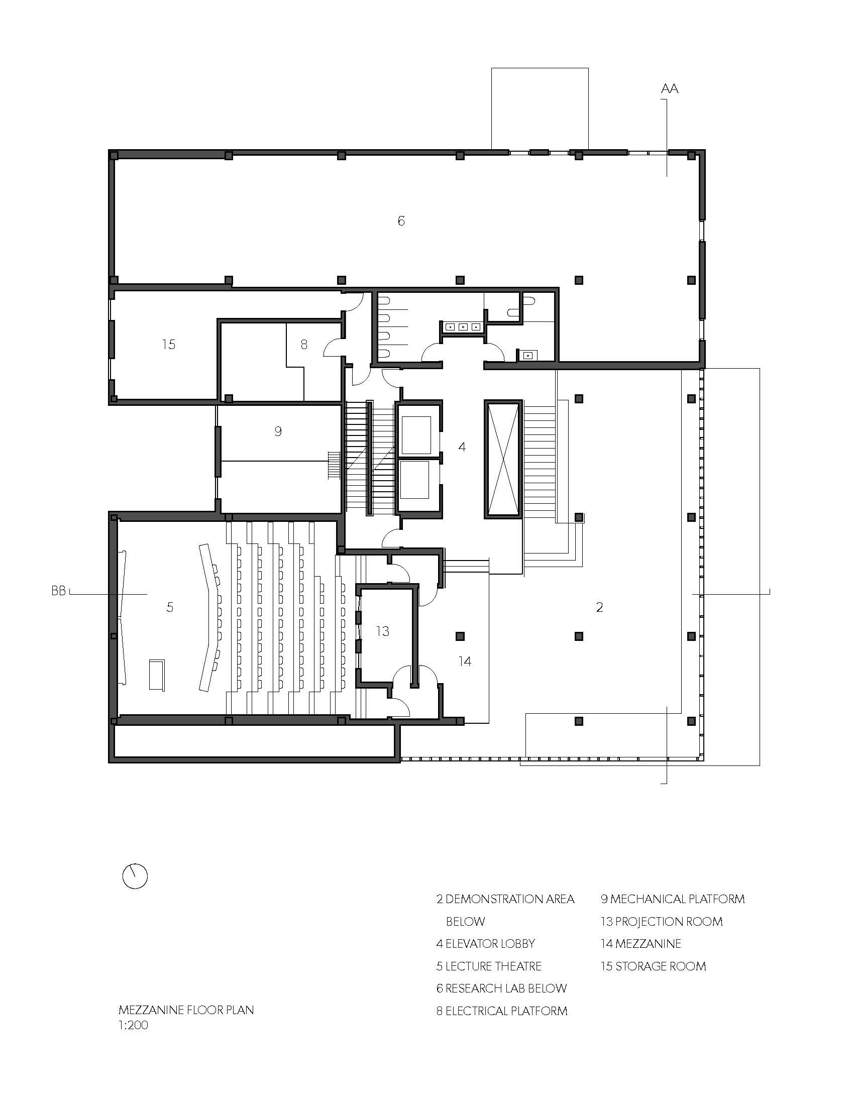 gallery architecture plan - photo #2