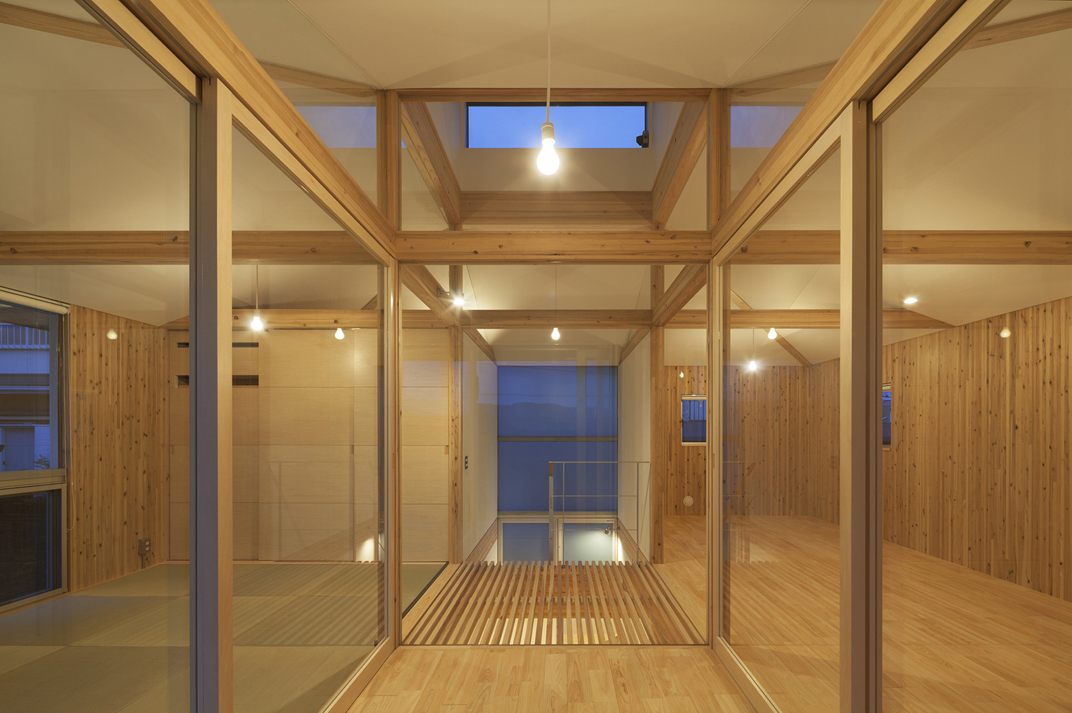 Gallery of hybrid wooden house architecture studio nolla 3 for Architecture hybride