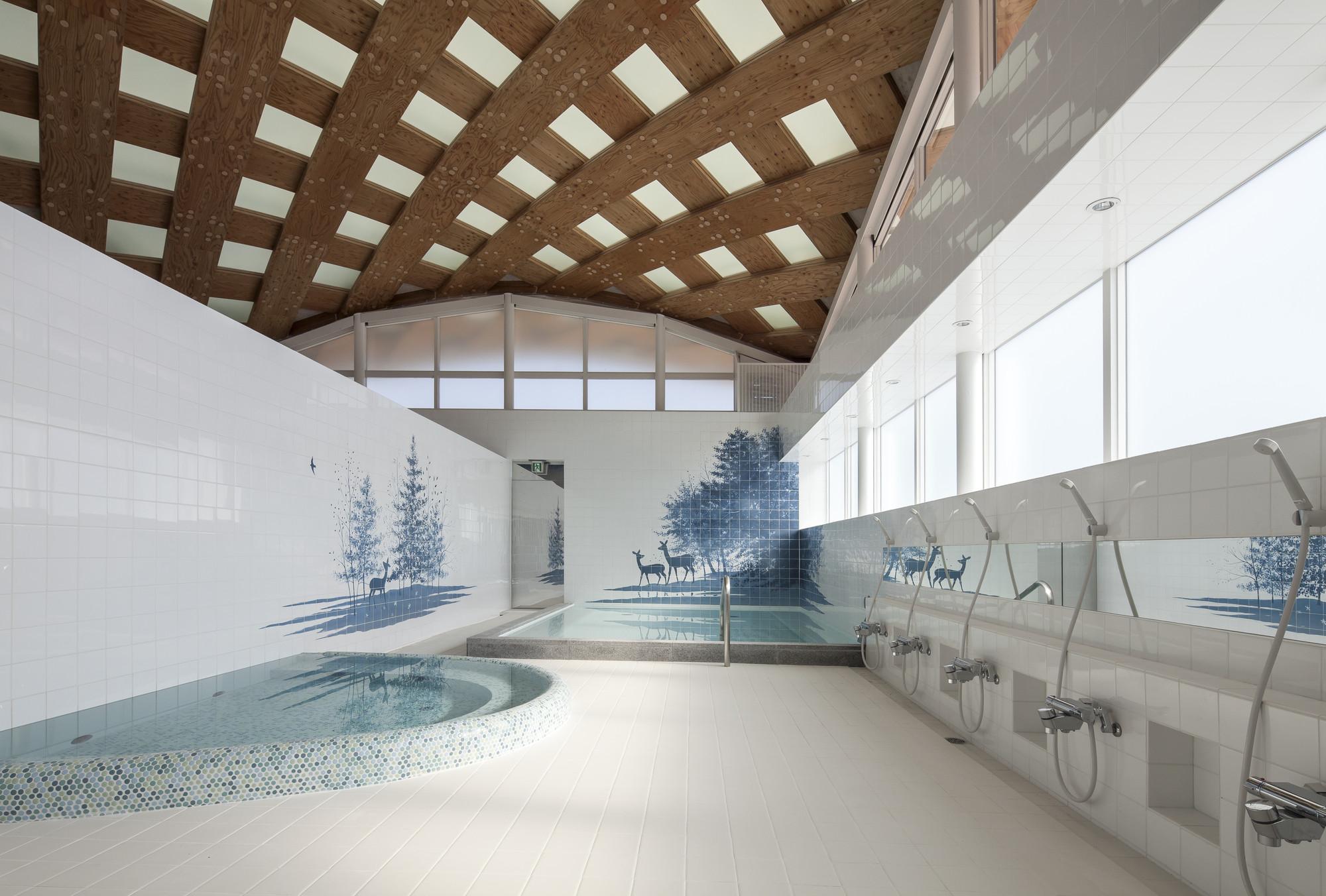 Estación JR Onagawa / Shigeru Ban Architects, © Hiroyuki Hirai