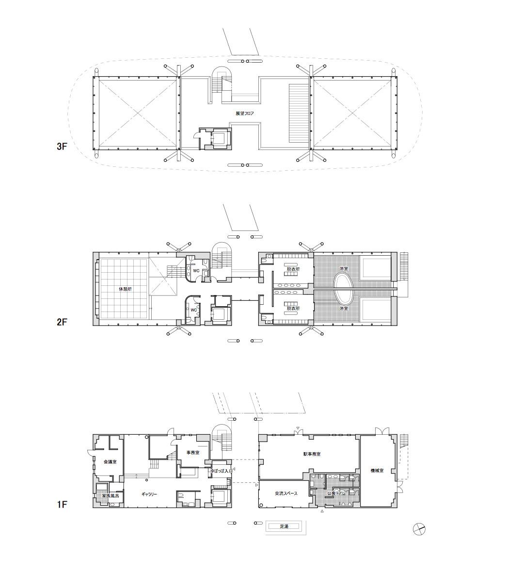 The Metz Floor Plan Gallery Of Jr Onagawa Station Shigeru Ban Architects 30