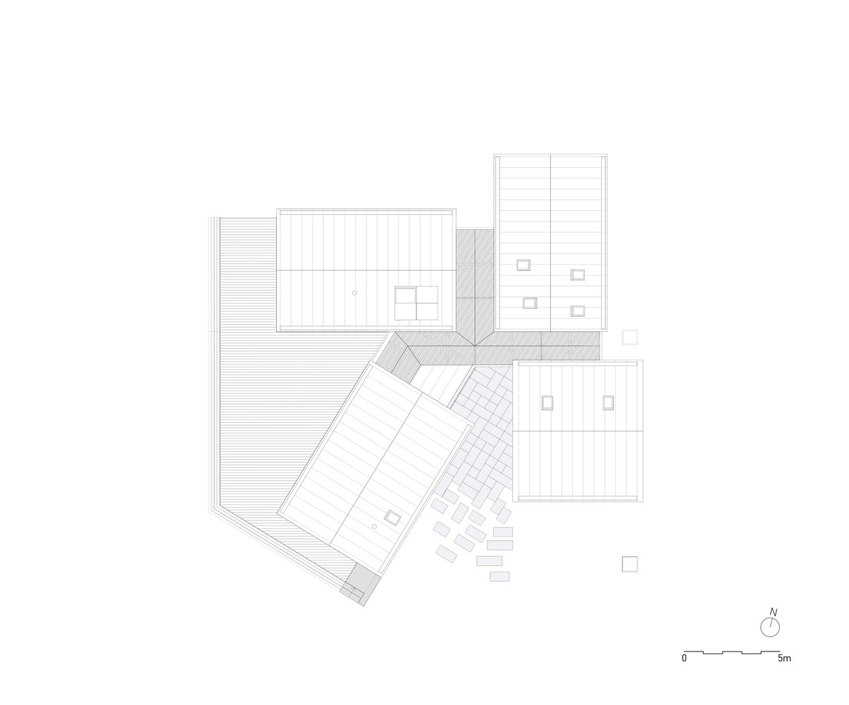 gallery of house of four houses prod arquitectura u0026 design 39