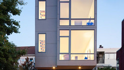 18th Ave City Homes / Malboeuf Bowie Architecture
