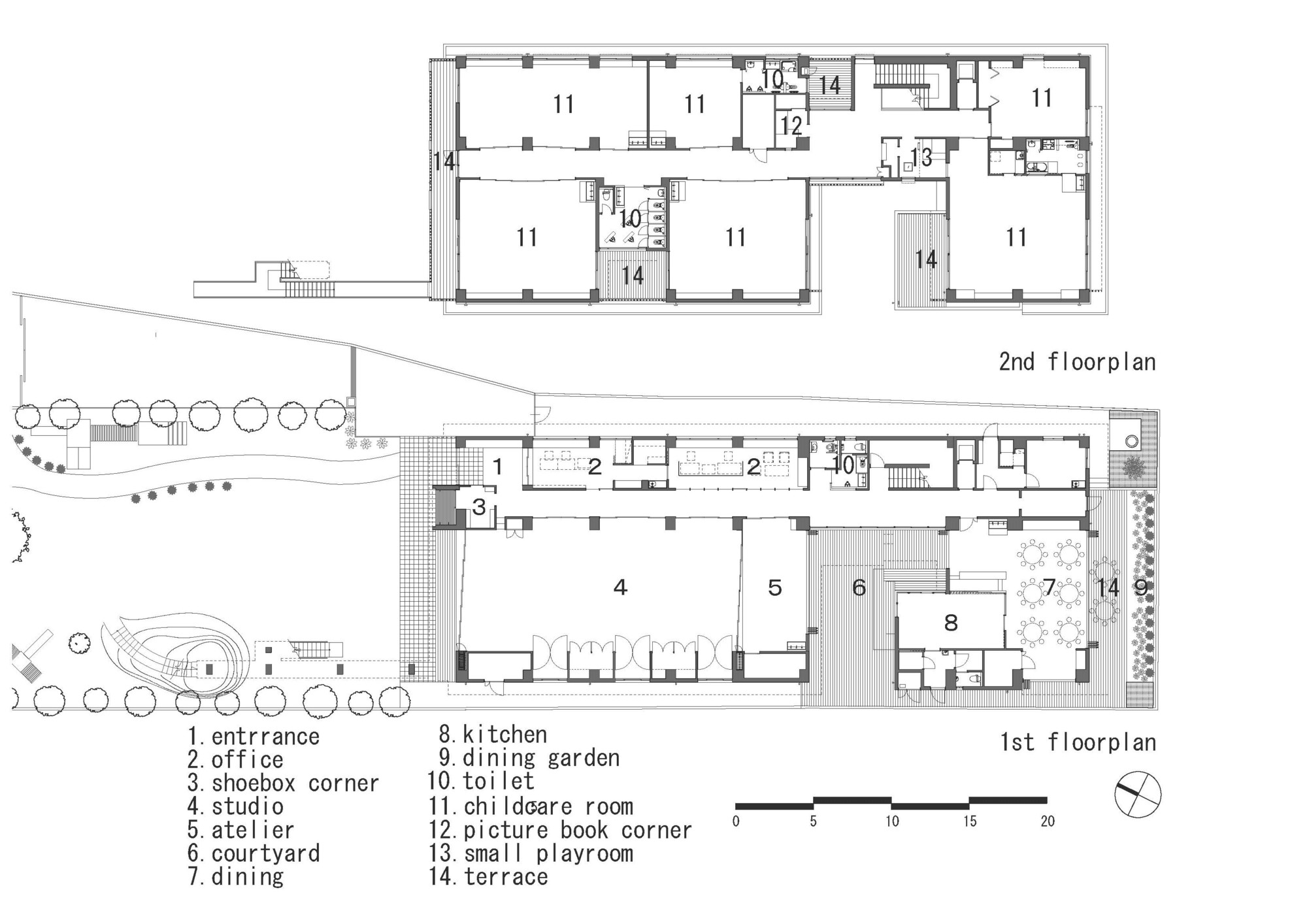 Preschool Classroom Design Standards ~ Hanazono kindergarten and nursery hibinosekkei youji