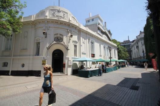 Barrio Lastarria, Santiago. © Plataforma Urbana. Image vía PURB
