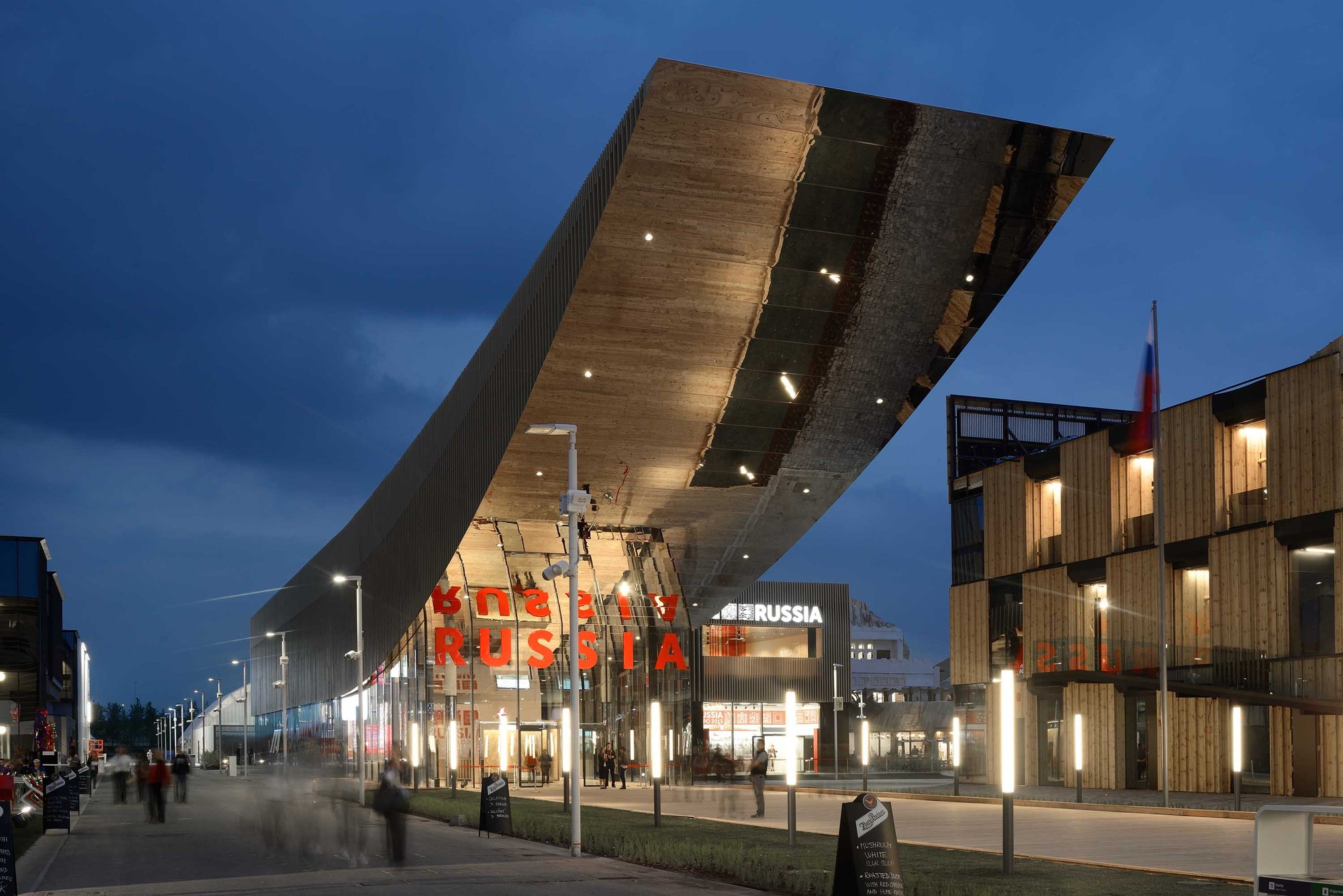 Best Stands Expo Milan : Russia pavilion milan expo speech archdaily