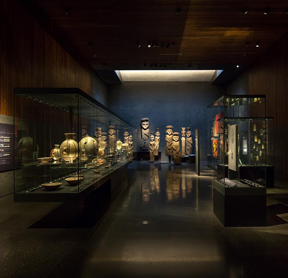 "Proyecto de Iluminación: Sala ""Chile antes de Chile"", Museo Chileno de Arte Precolombino / LLD, © Aryeh Kornfeld"