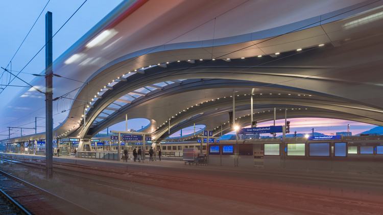 Graz Main Station Redevelopment  / Zechner & Zechner, © pierer.net