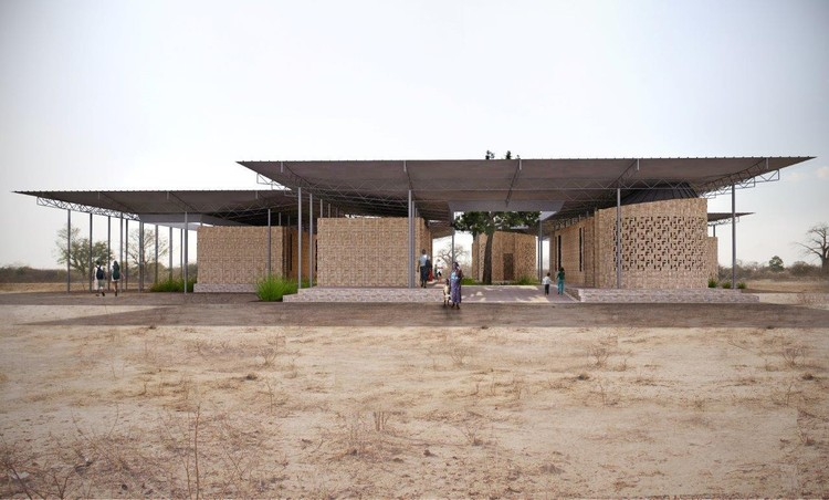 Jaklitsch / Gardner Architects Design Beekeeping and Honey Extraction Center for Tanzania, Courtesy of Jaklitsch/Gardner Architects