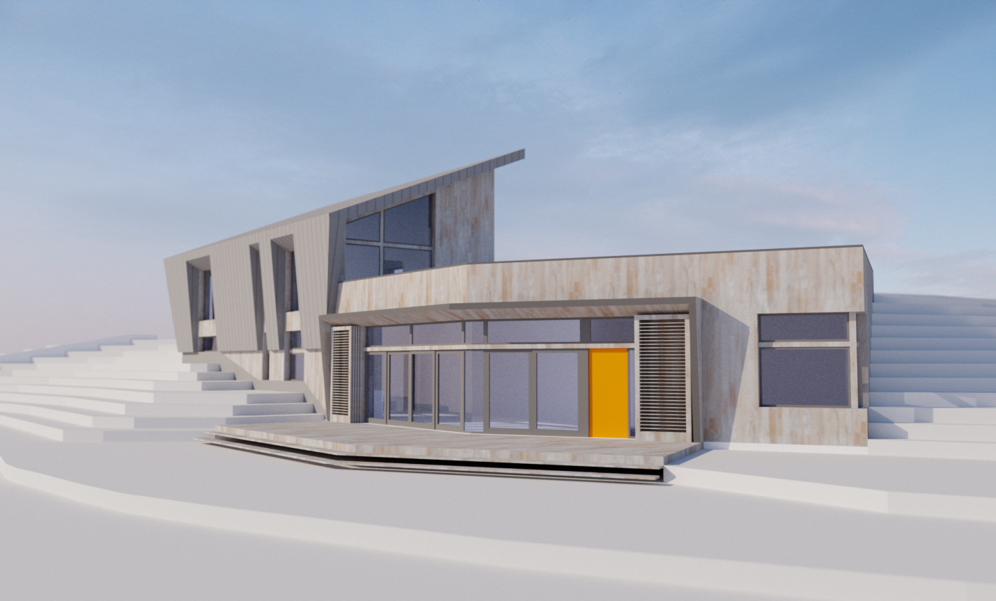 Sterner Design's Iowa residence. Image Courtesy of Sterner Design