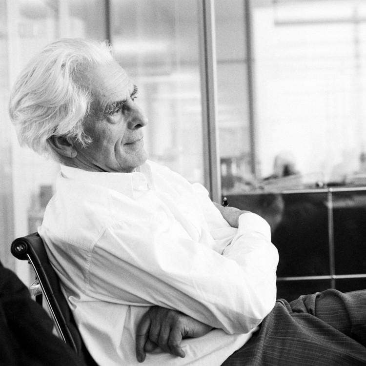 2015 Pritzker Prize Laureate Frei Otto. Image © Ingenhoven und Partner Architekten, Düsseldorf