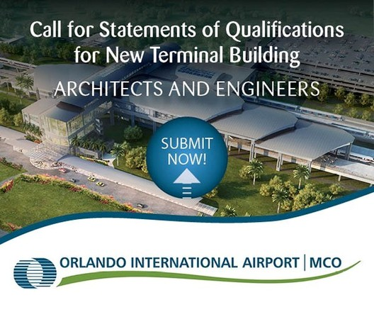 New Orlando International Airport Terminal Building – Call for Statements of Qualifications