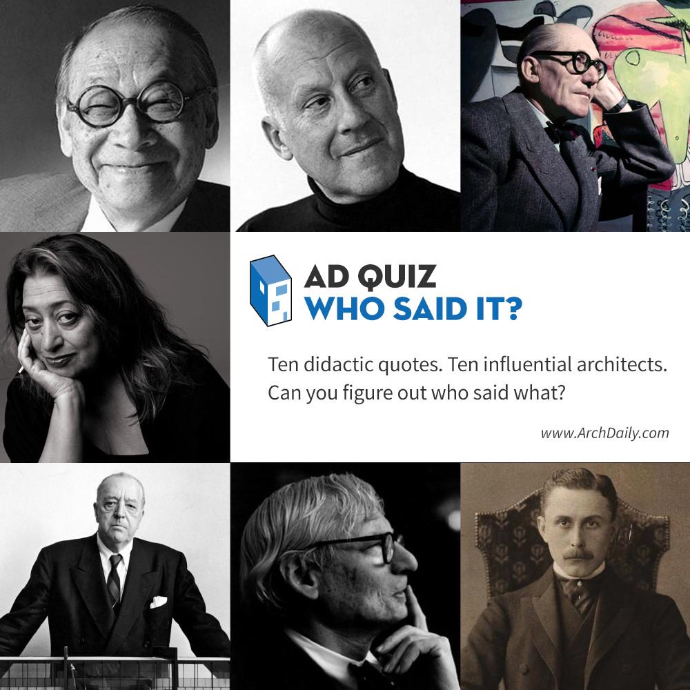 AD Quiz: Who Said It?
