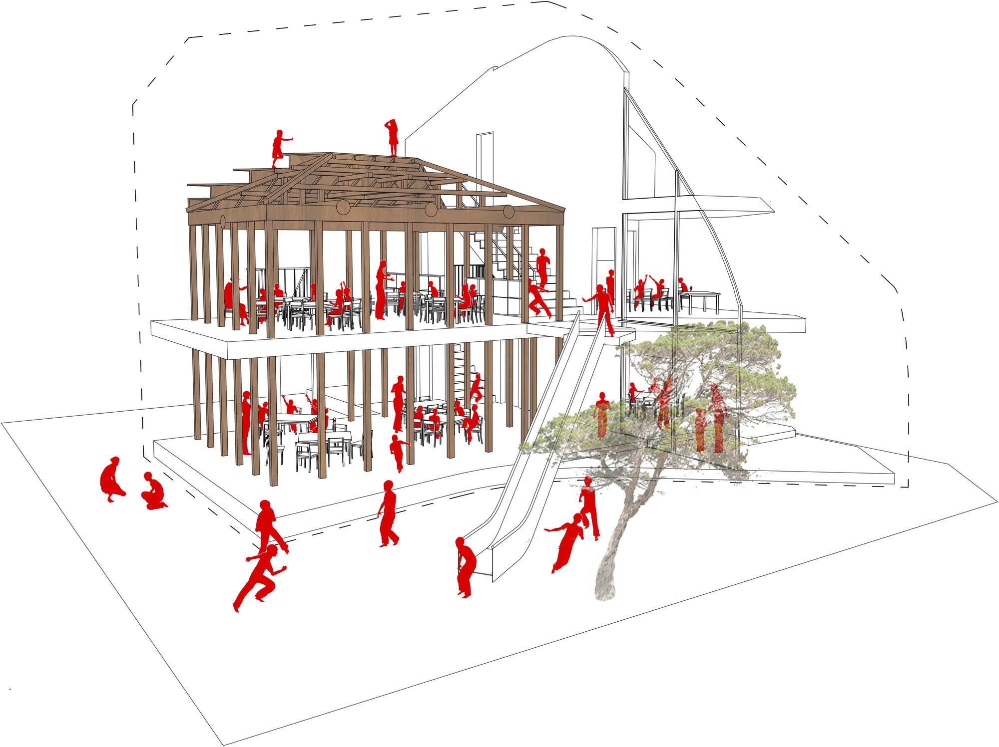 Diagrama Interior. Imagen © MAD