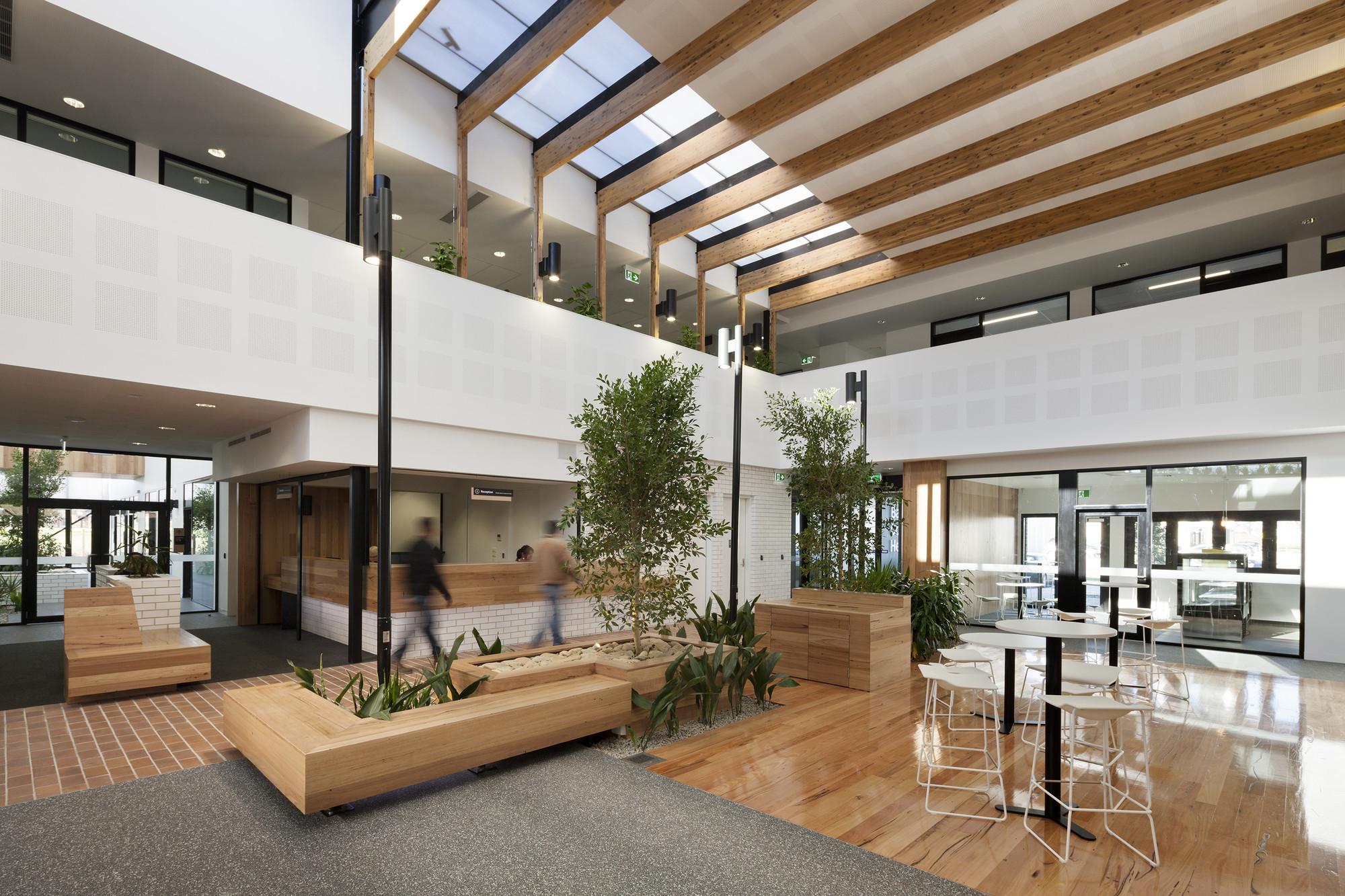 One Story Open Concept Floor Plans Ballarat Community Health Primary Care Centre Designinc