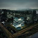 Night view. Image Courtesy of LYCS Architecture