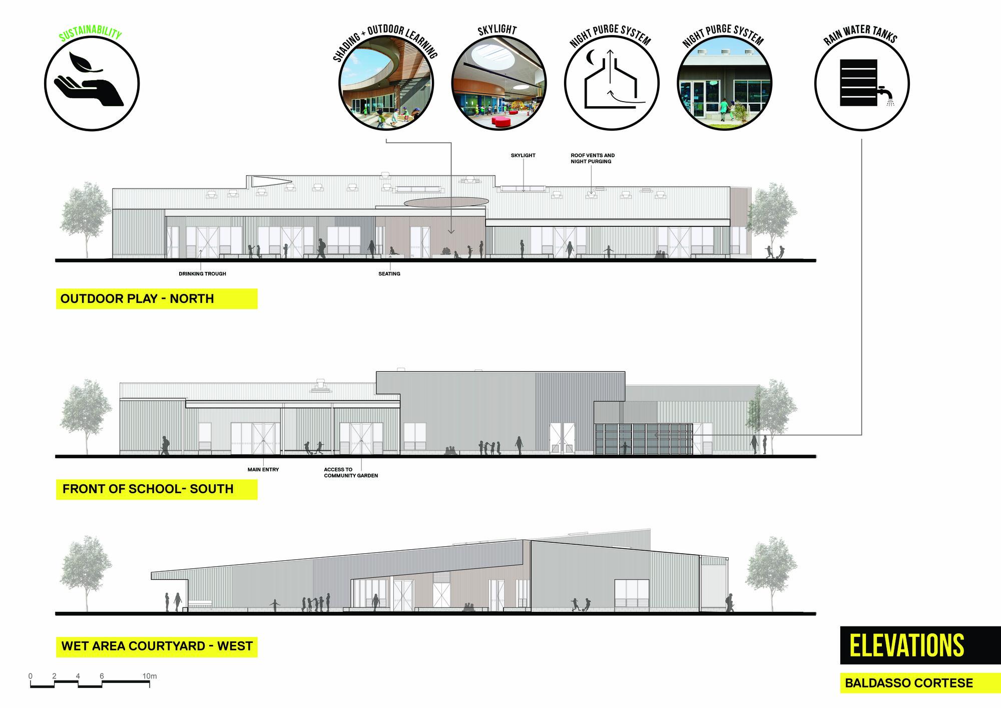 Primary School Plan Elevation : Gallery of st mary the cross primary school baldasso