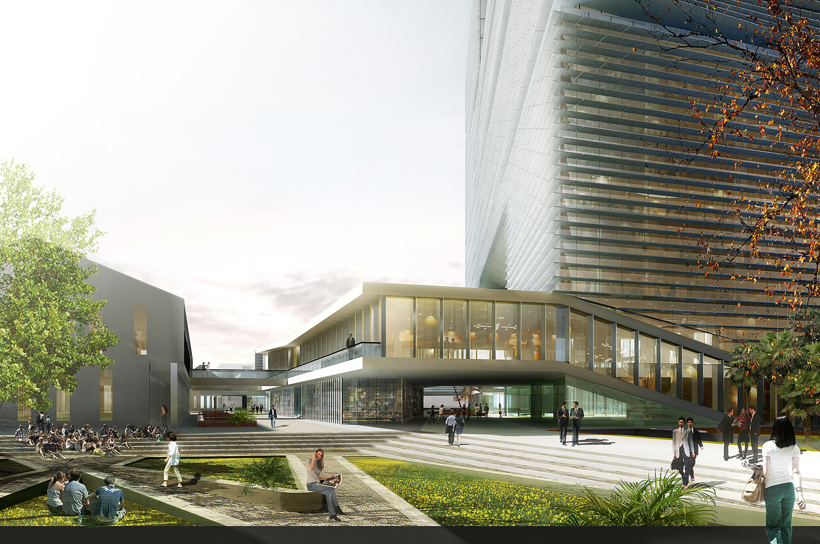 Gallery Of LYCS To Break Ground On Zhejiang Printing Group Headquarters In China - 3