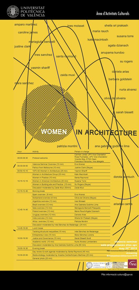 International Seminar: Women In Architecture / Valencia, España