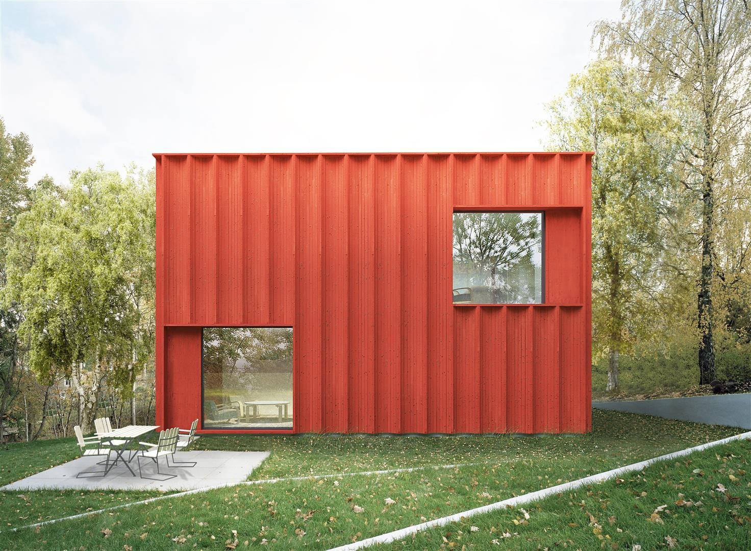 """Tham & Videgård Designs Sweden's """"Most Sought After Home"""", © Tham & Videgård"""