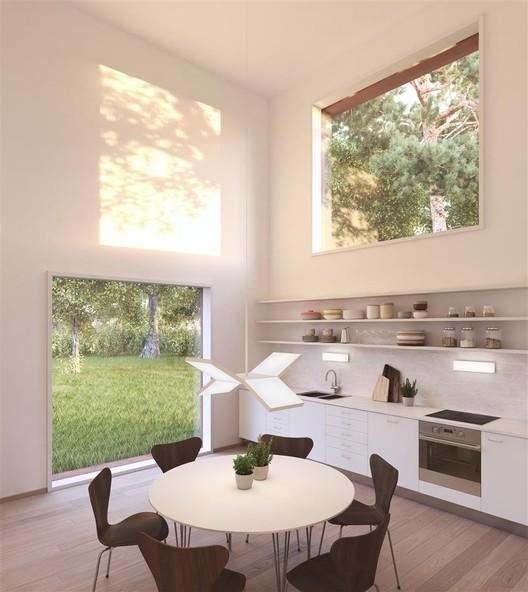 Cocina. Imagen © Tham & Videgård