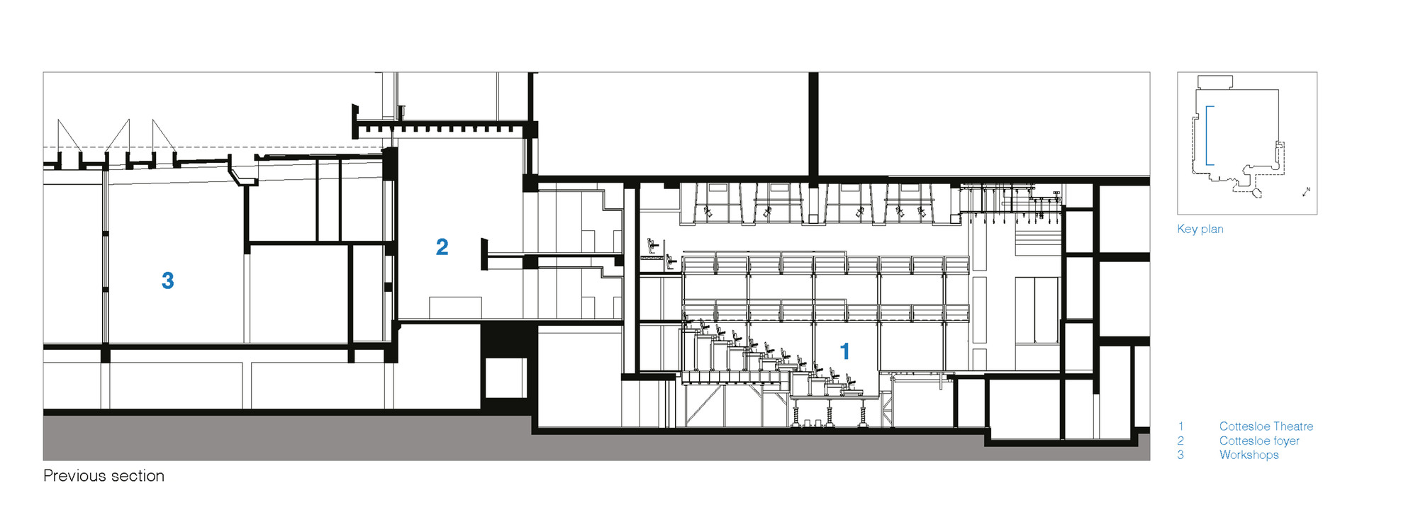 gallery of national theatre haworth tompkins 46 - theater