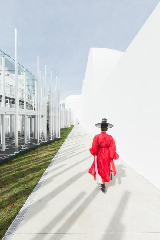 Pabellón de Corea del Sur – Expo Milán 2015 / Imagen © Laurian Ghinitoiu