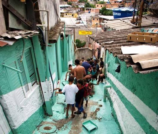 """Charla TED del colectivo Boa Mistura: """"Elegimos el arte urbano para conectarnos con la gente"""", Cortesia de Boamistura"""
