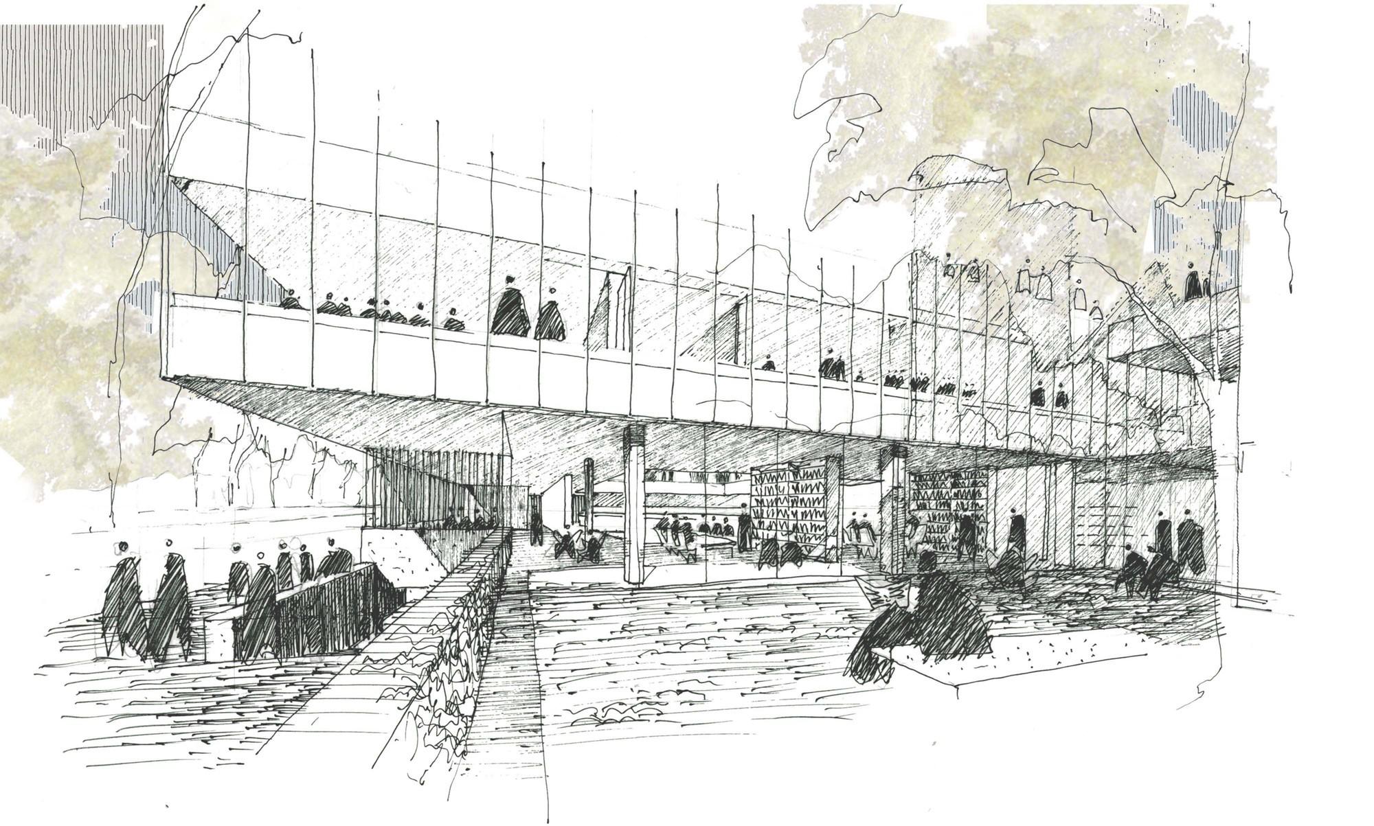 Opini n de nuestros lectores el rol del dibujo a mano en for 5 tecnicas de la arquitectura
