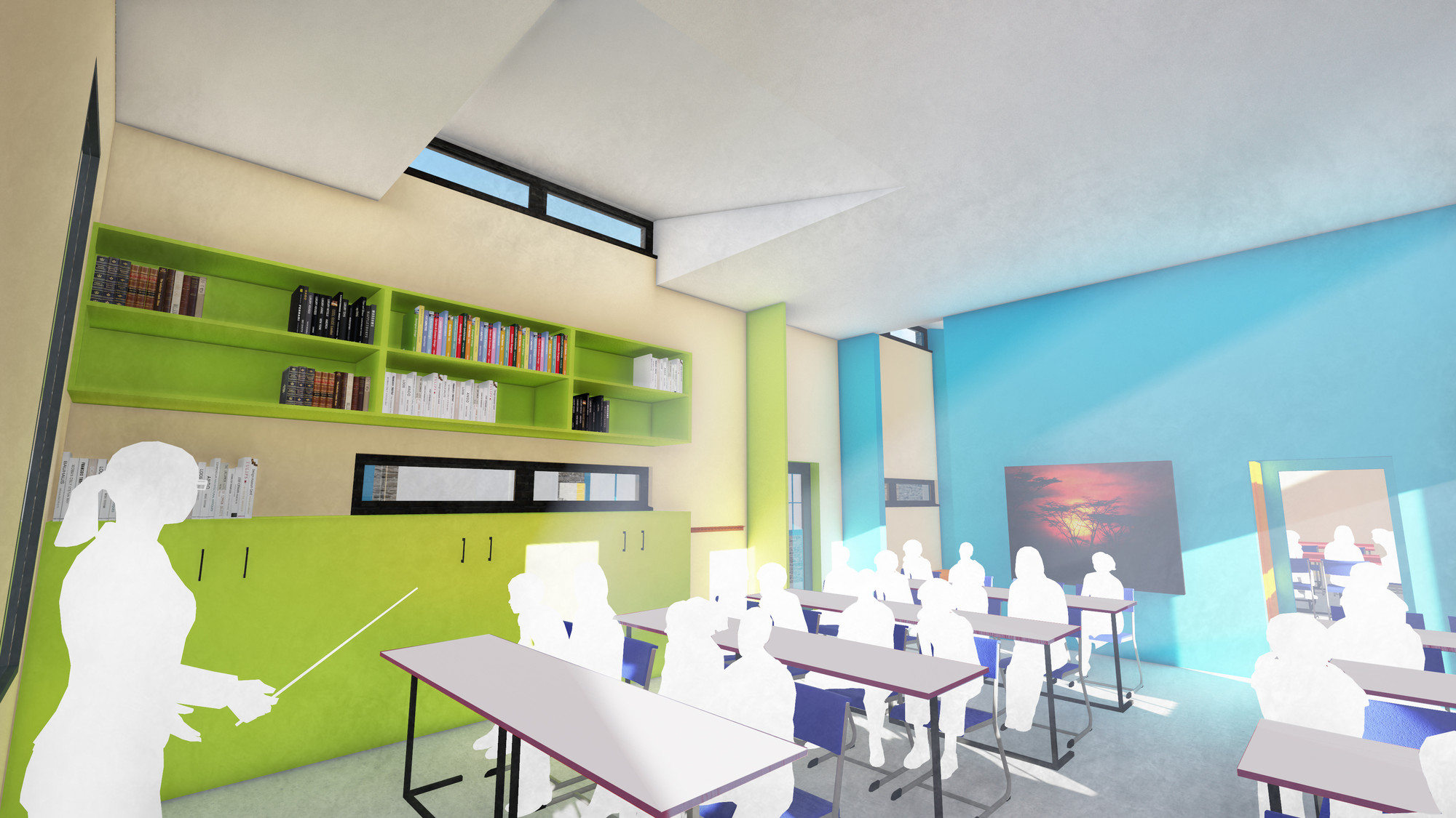 Classroom Design College : Place by design wins cool school competition