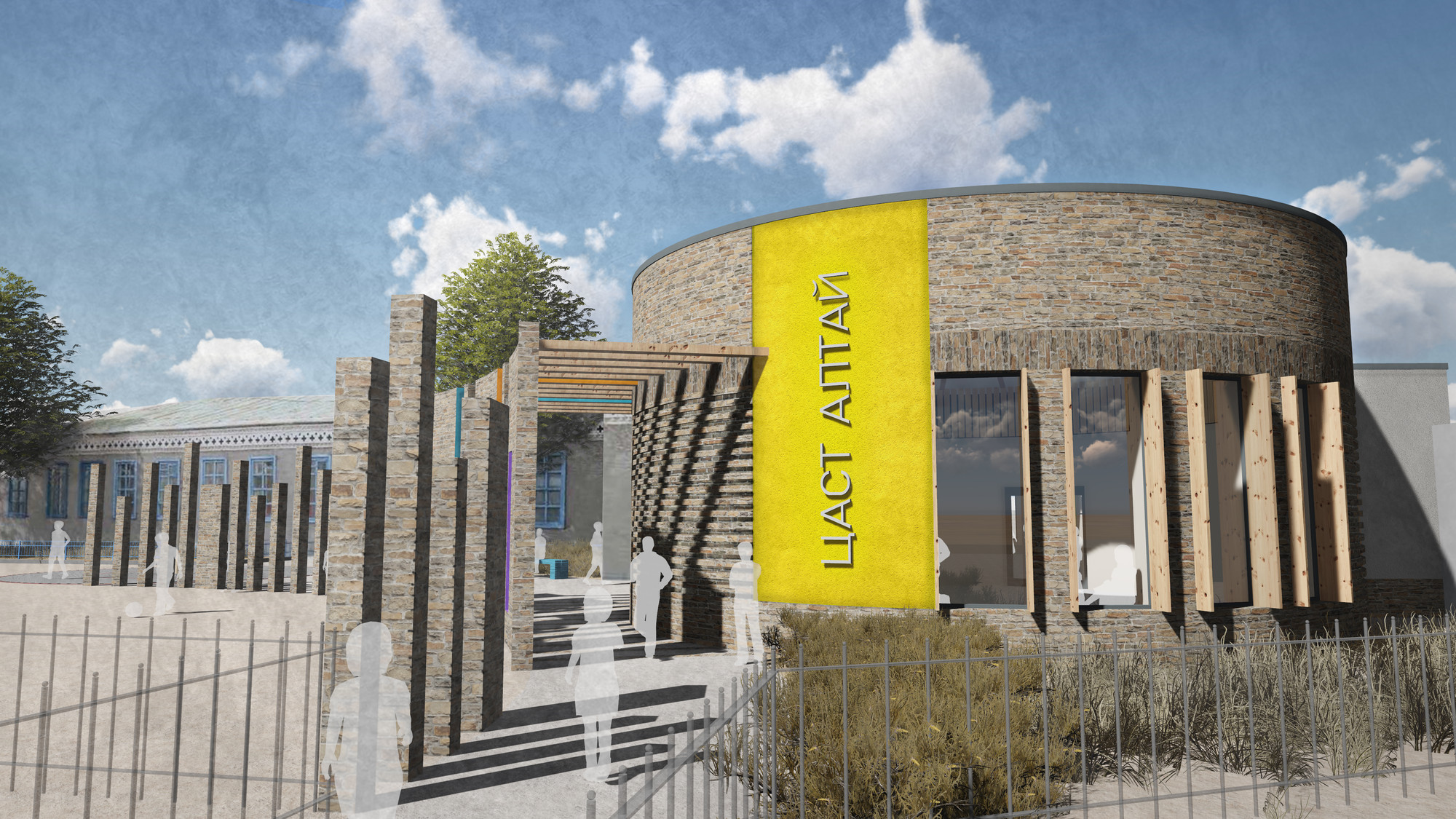 PLACE By Design Wins Cool School Design Competition, Courtesy of Building Trust International
