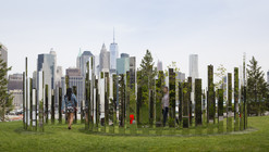 "Please Touch the Art: Jeppe Heine's ""Labyrinth NY"" Installed in Brooklyn"