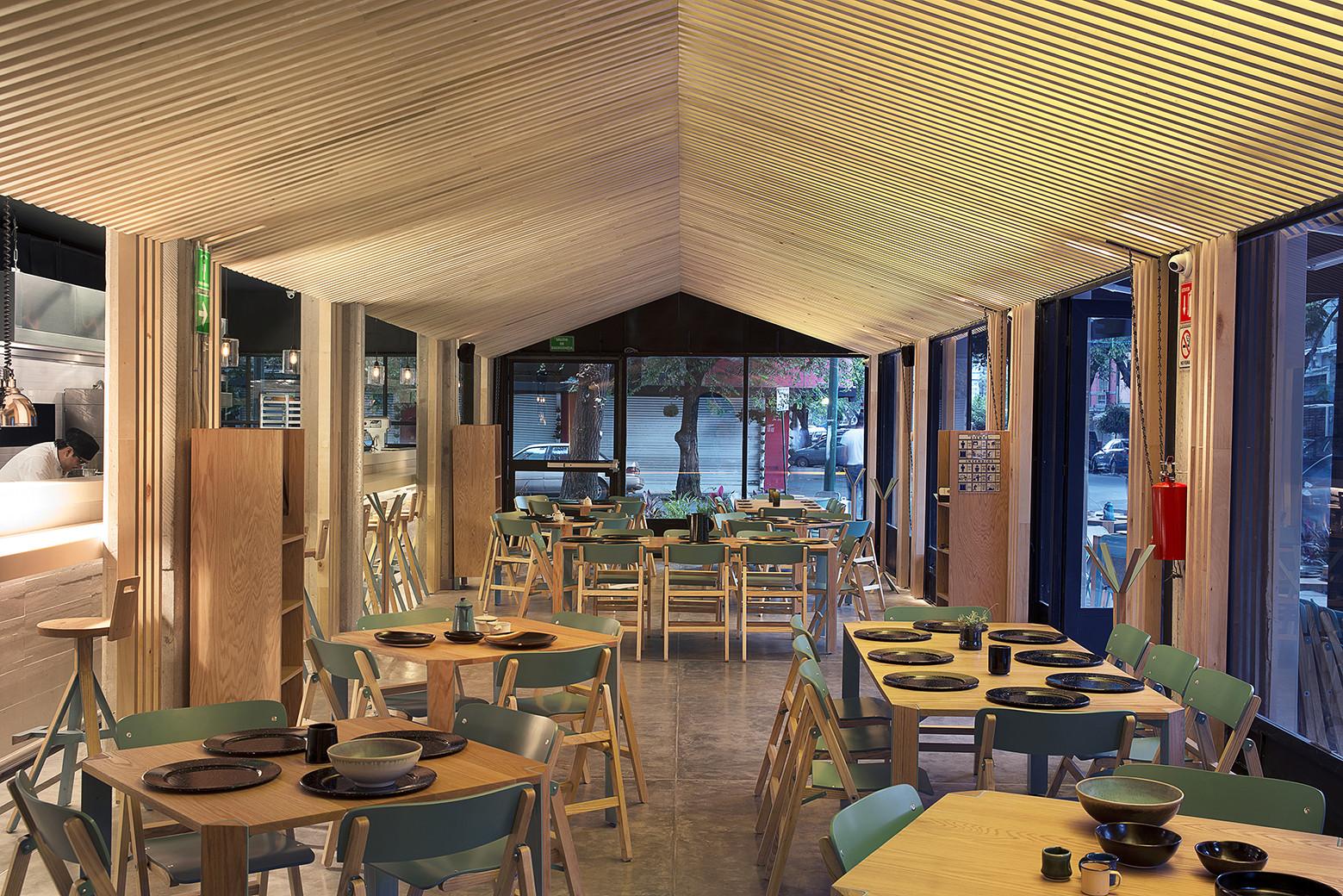 Restaurante zapote m dulo 11 plataforma arquitectura for Restaurante arquitectura
