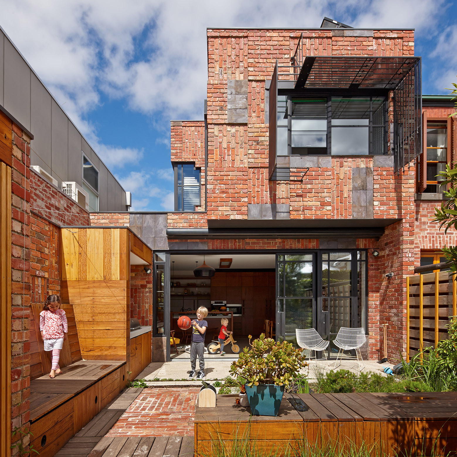 Cubo House / PHOOEY Architects, © Peter Bennetts Photographer